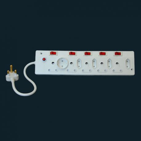 Premier Housewares 10 WAY ELECTRICAL MULTI ADAPTOR WITH ILLUMINATING ON LIGHTS - Product Code 406
