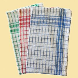 CHECKED DISH CLOTH - Product Code 500