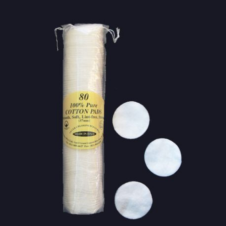 COTTON PADS - 80 PACK top grade quality - Product Code 216