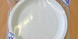 Premier Houseware DISPOSABLE PLASTIC PLATES - BULK or 10 PACK - PRODUCT CODE 607