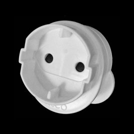ELECTRICAL ROUND 2 PIN ADAPTOR - product code 410