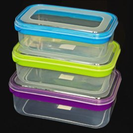 FOOD CONTAINERS DELUXE - RECTANGULAR