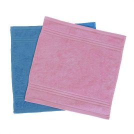 PLAIN VELOUR FACE CLOTH - Product Code 977PLAIN