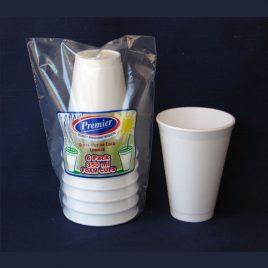 POLYSTYRENE CUPS - 350 ml