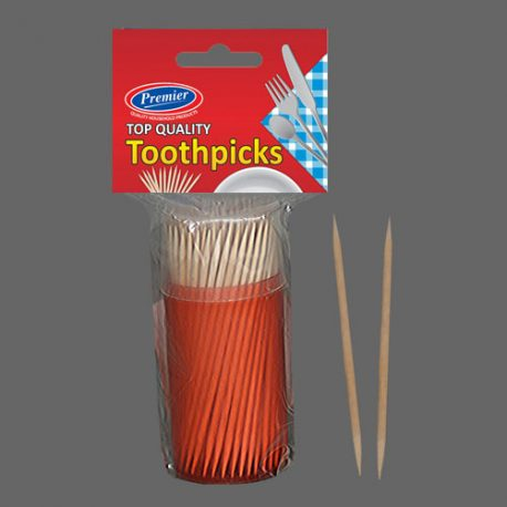 TOOTH PICKS IN SINGLE BARREL - Product Code 890-S