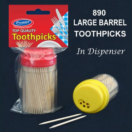 TOOTH PICKS in dispenser - Product Code 890