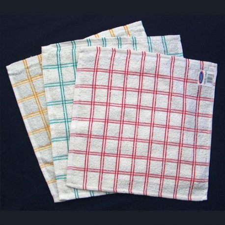 TOWELLING KITCHEN CLOTH (32 X 32 cm) - Product Code 509
